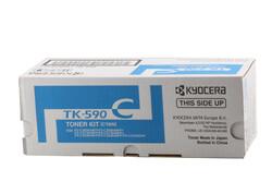 KYOCERA - Kyocera TK-590C Cyan Mavi Orjinal Fotokopi Toneri FS-C2016-2026-2126-2526-2626 M6026-6526 5.000