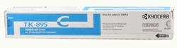 KYOCERA - Kyocera TK-895C Cyan Mavi Orjinal Fotokopi Toneri FS-C8020-8025-8520-8525 6.000 Sayfa