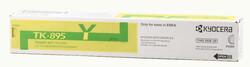 KYOCERA - Kyocera TK-895Y Yellow Sarı Orjinal Fotokopi Toneri FS-C8020-8025-8520-8525 6.000 Sayfa
