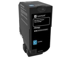 LEXMARK - Lexmark 74C50C0 3.000 Sayfa Cyan Mavi Toner CS720-725 CX725
