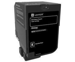LEXMARK - Lexmark 74C50K0 3.000 Sayfa Black Siyah Toner CS720-725 CX725