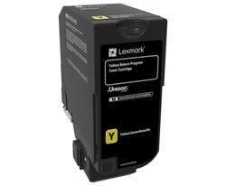 LEXMARK - Lexmark 74C50Y0 3.000 Sayfa Yellow Sarı Toner CS720-725 CX725
