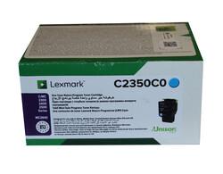 LEXMARK - Lexmark C2350C0 1.000 Sayfa Cyan Mavi Toner C2325-2425-2535 MC2325-2425-2535-2640