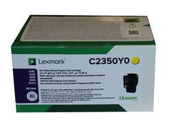 LEXMARK - Lexmark C2350C0 1.000 Sayfa Yellow Sarı Toner C2325-2425-2535 MC2325-2425-2535-2640