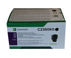 LEXMARK - Lexmark C2350K0 1.000 Sayfa Black Siyah Toner C2325-2425-2535 MC2325-2425-2535-2640