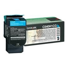 LEXMARK - Lexmark C540H1CG 2.000 Sayfa Cyan Mavi Toner C540-543-544 X543-544-546-548