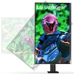 LG 27 27GN880 2K IPS Gaming Monitör 1ms Siyah2560x1440, DP, HDMI, 144Hz, Freesync, Vesa - Thumbnail