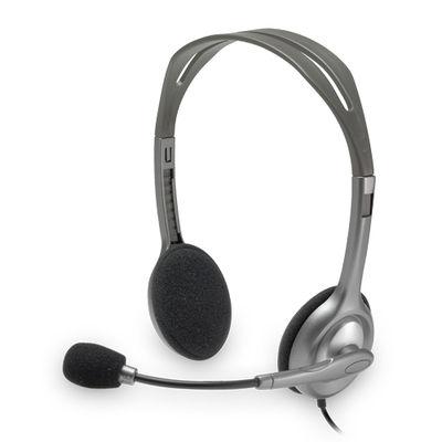 Logitech 981-000271 H110 Mikrofonlu Headset Gri