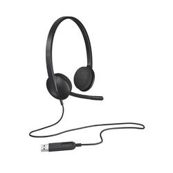 LOGITECH - Logitech 981-000475 H340 Usb Mikrofonlu Headset Siyah
