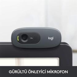 Logitech - LOGITECH C270 960-001063 HD WEBCAM SIYAH