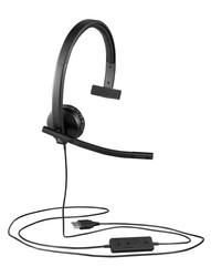 LOGITECH - LOGITECH H570e MONO USB HEADSET 981-000571