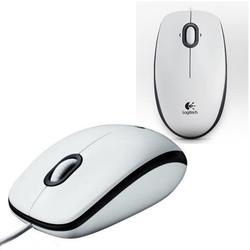 LOGITECH - Logitech M100 Kablolu Optik Mouse Beyaz 910-005004