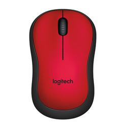 LOGITECH - Logitech M220 Kablosuz Silent Kırmızı 910-004880