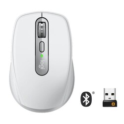 LOGITECH - Logitech MX Anywhere 3 Pale Mouse Grey 910-005989Bluetooth,Laser - Darkfield