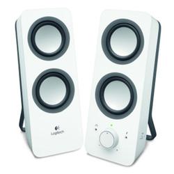 Logitech Z200 1+1 Hoparlör Beyaz 980-000811 - Thumbnail