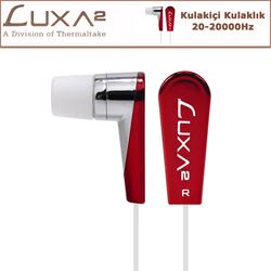 LUXA2 F2 Kulak İçi Kulaklık - Kırmızı (LHA0010) - Thumbnail