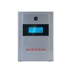 MAKELSAN - MAKELSAN 1000va 720w Lion Plus LineInteractive LCD Ekran 5/10 dk Turuncu 2x 12v 7amper