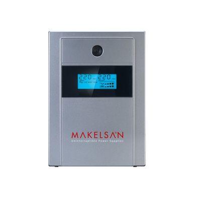 MAKELSAN 1000va 720w Lion Plus LineInteractive LCD Ekran 5/10 dk Turuncu 2x 12v 7amper