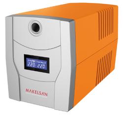 MAKELSAN - MAKELSAN LION 1200 VA (2X7AH) LINE INTERACTIVE (MU01200L11MP005)