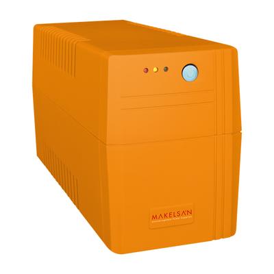 MAKELSAN LION 650VA 1/1 1X7AH LINE INT.UPS 5/10 DK