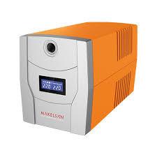 MAKELSAN - MAKELSAN LION X 1200 VA Line Interactive Lcd Ekran 2x7AH UPS