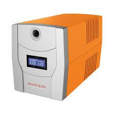 MAKELSAN - MAKELSAN LION X 2200 VA Line Interactive 5-15 Dk. Lcd Ekran 2x9AH -