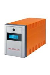 MAKELSAN - MAKELSAN MU01500L11PL005 Line-Intractive Lion Plus 1500VA 5-10 Dk 2x9AH Akülü UPS