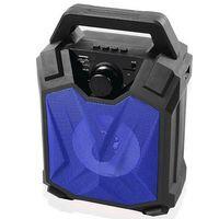 MIKADO - MIKADO MD-5BT X-Life 5W 1200mAh SD Cart USB+Bluetooth Siyah-Mavi Kablosuz MP3 Oynatıcı Hoparlör