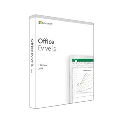 MICROSOFT - MS OFFICE 2019 HOME AND BUSINESS TURKCE KUTU T5D-03258