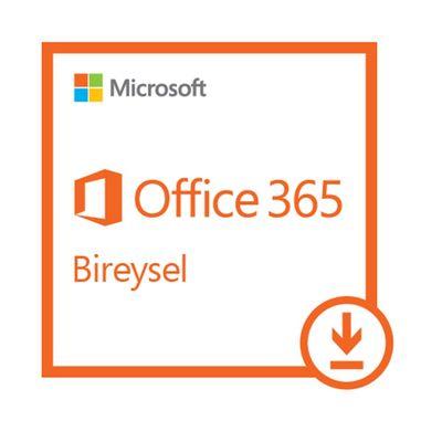 MS OFFICE 365 BIREYSEL 32/64BIT TURKCE-INGILIZCE ELEKTRONIK LISANS 1 YIL QQ2-00006