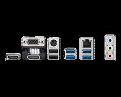 MSI A520M PRO AM4 DDR4 4600(OC) VGA DVI HDMI M.2 USB3.2 mATX - Thumbnail