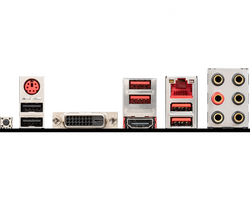 MSI B450 GAMING PLUS MAX AM4 DDR4 SES GLAN HDMI/DVI SATA3 USB3.2 ATX - Thumbnail