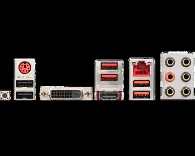 MSI B450 GAMING PLUS MAX AM4 DDR4 SES GLAN HDMI/DVI SATA3 USB3.2 ATX