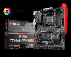 MSI - MSI B450 TOMAHAWK MAX AM4 DDR4 3466(OC) DVI HDMI M.2 USB3.2 RGB ATX