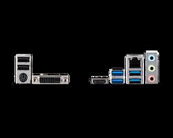 MSI B460M-A PRO SOKET 1200 DDR4 2933 DVI HDMI M.2 USB 3.2 MATX - Thumbnail