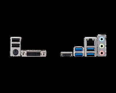 MSI B460M-A PRO SOKET 1200 DDR4 2933 DVI HDMI M.2 USB 3.2 MATX