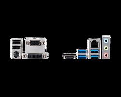 MSI B460M PRO SOKET 1200 DDR4 2933 VGA DVI HDMI M.2 USB 3.2 MATX - Thumbnail