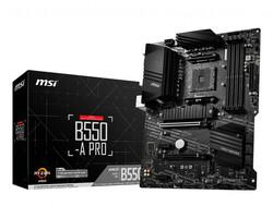 MSI - MSI B550-A PRO DDR4 4400(OC)Mhz HDMI - DP ATX AM4