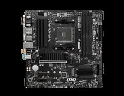 MSI B550M PRO-VDH WIFI AM4 DDR4 4400(OC) HDMI DVG VGA M.2 USB3.2 WIFI MATX - Thumbnail