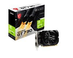 Seçiniz - MSI GT730 4GB N730K-4GD3-OC DDR3 128bit HDMI DVI PCIe 16X v2.0