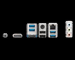 MSI MAG B550M BAZOOKA AM4 DDR4 4400(OC) HDMI DP M.2 USB3.2 MATX - Thumbnail