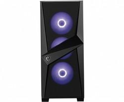 MSI MAG FORGE 101M Temperli Cam 3x RGB Fan ,1x 120mm Fan ATX Gaming Bilgisayar Kasası - Thumbnail