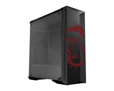 MSI MPG GUNGNIR 100D Temperli Cam ATX Gaming Bilgisayar Kasası