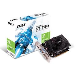 MSI - MSI VGA N730 2GD3V2 GT730 2GB DDR3 128b DX12 PCIE 2.0 x16 (1xVGA 1xDVI 1xHDMI)