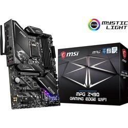 MSI - MSI Z490 MPG Z490 GAMING EDGE WIFI DDR4 SATA3 M2 PCIe NVME HDMI DP PCIe 16X v3.0 1200p ATX