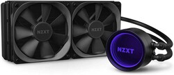 NZXT - NZXT Design: With a re-designed cap and larger infinity mirror ring LED, the (RL-KRX53-01)