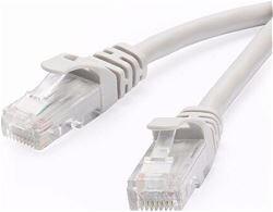 ODS - ODS 0.3m CAT6 Utp LSZH Saf Bakır Beyaz Patch Kablo