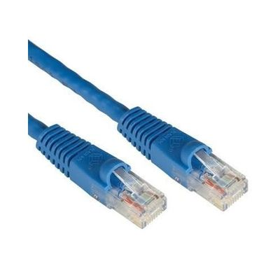 ODS 0.3m CAT6 Utp LSZH Saf Bakır Mavi Patch Kablo