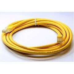 ODS - ODS 1m CAT6 Utp LSZH Saf Bakır Sarı Patch Kablo