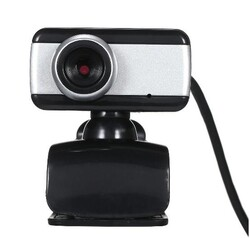 OEM - OEM 480P Mikrofonlu Siyah Webcam